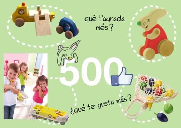 sorteig 500fans