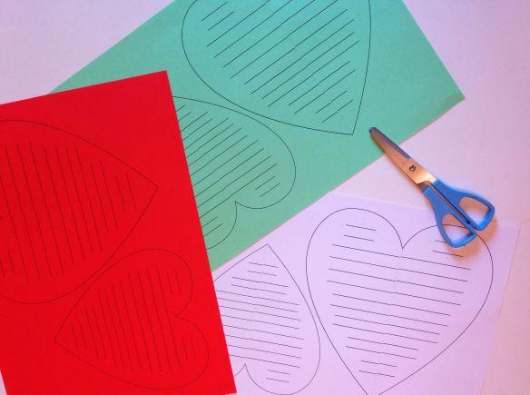 Corazones de papel 10